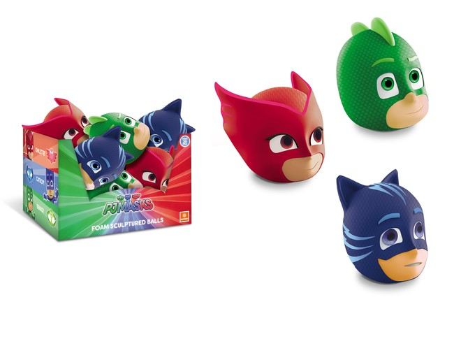 09513 - PJ MASKS SCULPTURED BALL