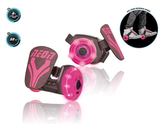 25246 - NEON STREET ROLLERS PINK
